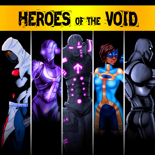 Read Heroes of the Void on Graphite Comics